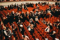 Alla Scala, θέατρο Scala, Μιλάνο, ΙΤΑΛΙΑ Teatro στοκ εικόνες