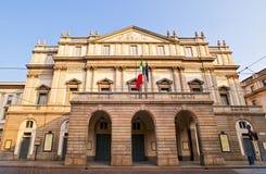 Alla Scala, Milano di Teatro Immagine Stock