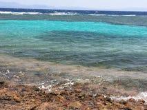Alla skuggor av det blåa havet royaltyfria bilder