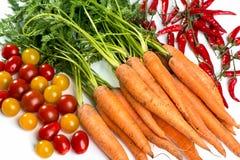 alla sortgrönsaker Arkivfoto