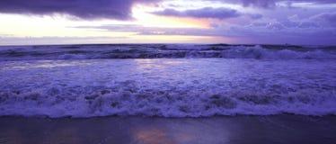 Alla spiaggia Fotografie Stock