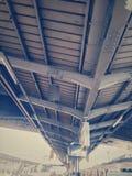 Alla stazione ferroviaria fotografia stock
