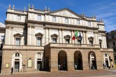 Alla Thetre - Teatro Scala - Milaan, Italië van Scala Stock Fotografie