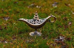 Alladin lamp Royalty Free Stock Photography