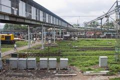 allahabadjärnvägstation Royaltyfria Bilder
