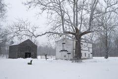 allaire śnieg obrazy stock