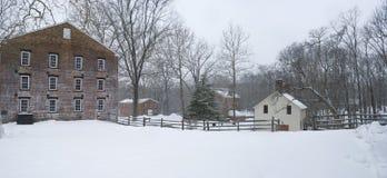 allaire panoramy zima zdjęcia royalty free