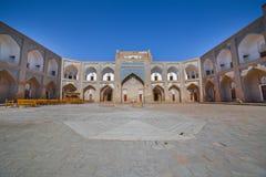 Allakuli Khan Madrasah, dans Khiva, l'Ouzbékistan Images stock