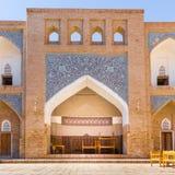Allakuli Khan Madrasah, in Khiva, l'Uzbekistan Fotografia Stock