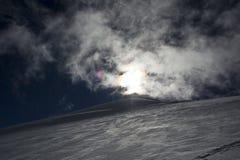 Allalinhorn Imagem de Stock