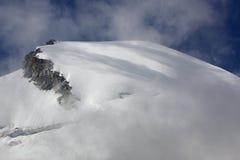 allalinhorn góra Obraz Royalty Free