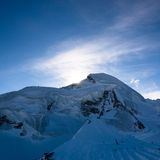Allalinhorn mountain peak Stock Photography