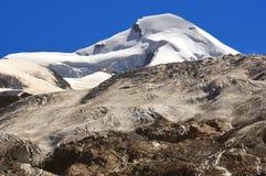 allalinhorn szczyt Fotografia Royalty Free