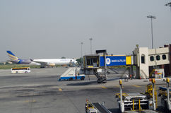Allama伊克巴尔机场,拉合尔 库存图片