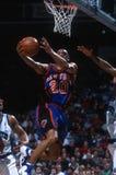 Allan Houston New York Knicks royalty-vrije stock afbeelding