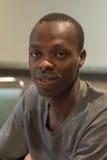 Allan Kiprono , kenyan marathon runner attends a press conferenc Stock Photography