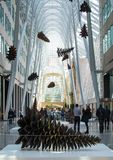 Allan Lambert Galleria in Toronto Stock Photography