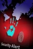 Allarme 2 di furto di identità Fotografie Stock
