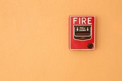Vetro della rottura del fuoco Immagini Stock Libere da Diritti