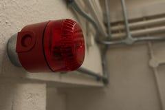 Allarme d'avvertimento nella prigione di HMP Shrewsbury, la Dana Fotografia Stock