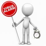 Allarme del virus illustrazione vettoriale