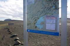 Allarme del vulcano Fotografia Stock Libera da Diritti