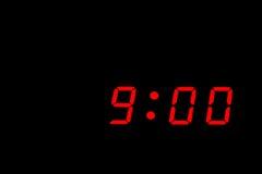 Allarme dell'orologio Fotografie Stock