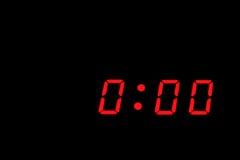 Allarme dell'orologio Immagini Stock