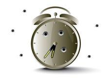 Allarme dell'orologio Fotografia Stock
