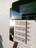 Allarme di sicurezza Fotografia Stock