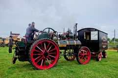 Free Allchin Steam Traction Engine At Steam Rally. Stock Photos - 139824813
