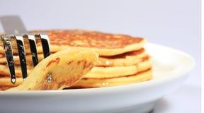 Alle amerikanischen Pfannkuchen lizenzfreie stockfotos