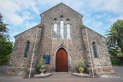 Alle anglikanische Kirche der Heiligen am 24. Juli 2016 in Puerto de la Cruz, Teneriffa, Spanien Lizenzfreie Stockbilder