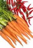 Alle Arten Gemüse Stockbild