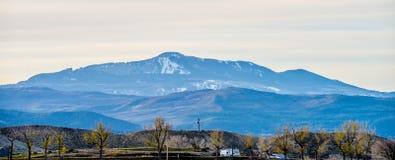 Alle colline pedemontana dei Colorado Rockies immagini stock libere da diritti