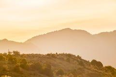 Alle colline pedemontana dei Colorado Rockies fotografia stock