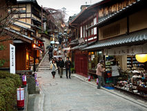 Allée de Kyoto Photo stock