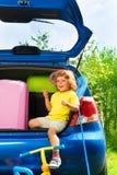 Alle, die Sie für Autoferien benötigen Lizenzfreies Stockfoto