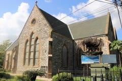 Alle Heilig-anglikanische Kirche in Port-of-Spain, Trinidad und Tobago stockbilder