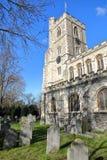 Alle Heilig-Kirche in Fulham, Bischöfe parken, Stadt von Hammersmith und Fulham, London, Großbritannien lizenzfreies stockbild
