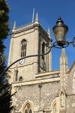 Alle Heilig-Kirche High Wycombe, Dollars lizenzfreie stockfotos
