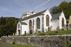 Alle Heilig-Kirche, Selworthy Stockfotografie