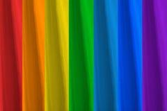 Alle kleuren van de regenboog Stock Fotografie