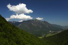 Alle montagne Fotografia Stock