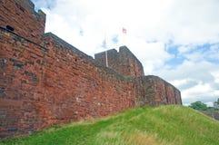 Alle pareti del castello Immagine Stock Libera da Diritti