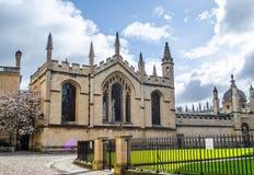 Alle Seelen Oxford Stockfotos