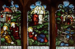 Alle Spitzenplatte Heilig-Kirchen-Buntglas-Damen-Chapel B stockfotografie