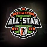 Alle Sterne des Fußballs, Logo, Emblem Stockbilder