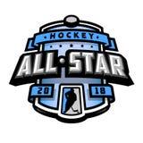 Alle Sterne des Hockeys, Logo, Emblem Stockfoto
