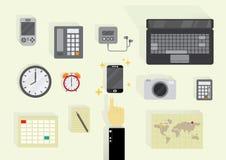 Alle Technologie in einer Stockfotos